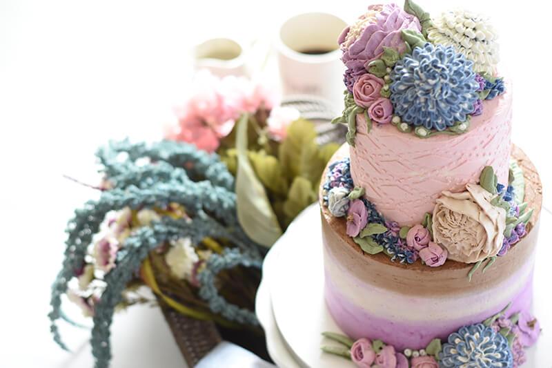 krémes emeletes torta